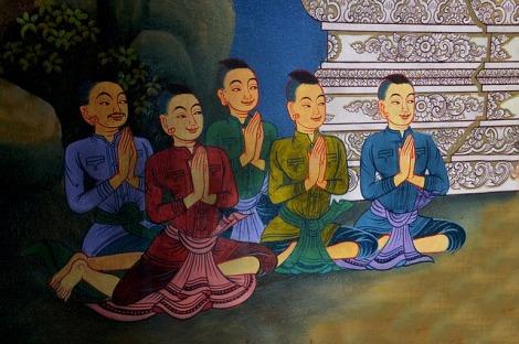 Resultado de imagen de meditación gassho
